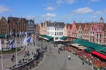 Oude binnenstad van Brugge